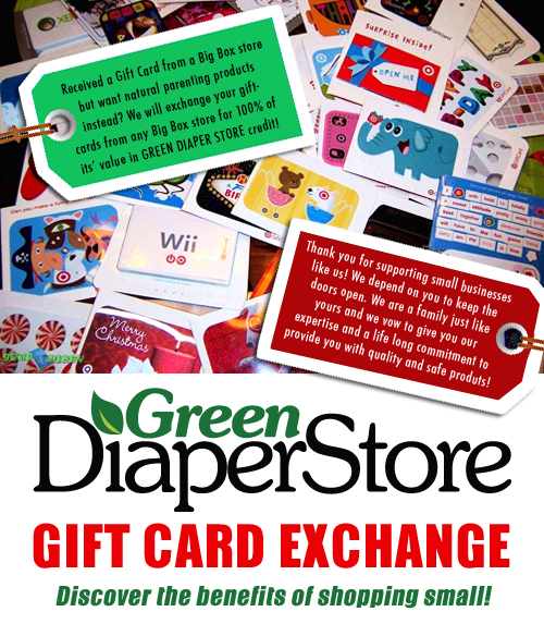 Gift card exchange program green diaper store as a small business we depend on every sale from our customers you keep our doors open we do understand though that many of our customers get gift colourmoves
