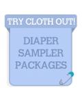 Cloth Diaper Sampler Packages