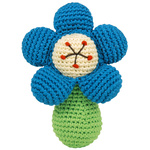 Dandelion Handcrafted Pudgy Rattle Flower