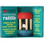Montgomery Schoolhouse Heirloom Rattle - Mini Bell