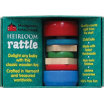 Montgomery Schoolhouse Heirloom Rattle - Mini Disk
