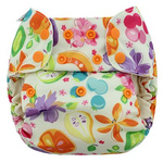 Blueberry - Organic One Size Simplex All In One Diaper Ambrosia