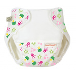 Imse Vimse Organic Cotton Diaper Cover Kiss the Frog