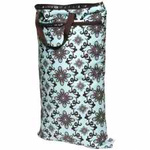 Planet Wise Hanging Wet/Dry Bag Aqua Swirl