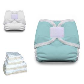 Thirsties Prefold Cloth Diaper Basic Starter Pack