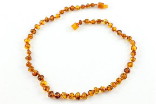 Baltic Amber Cognac Polished