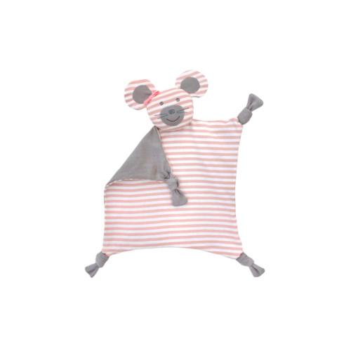 Apple Park Organic Farm Buddies Blankie Ballerina Mouse