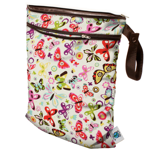 Planet Wise Wet/Dry Bag Butterflies