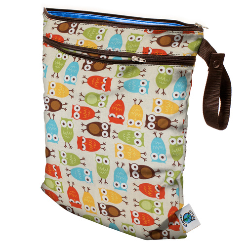 Planet Wise Wet/Dry Bag Owl