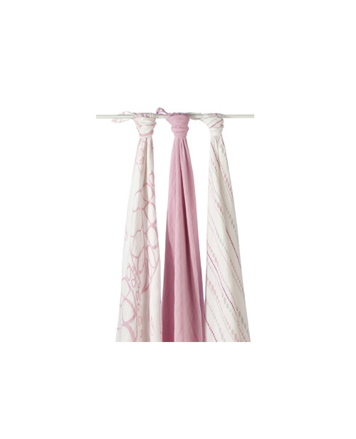Aden + Anais Bamboo Swaddling Blankets Tranquility